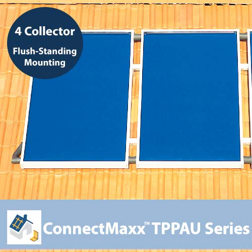ConnectMaxx TPPAU Series Flush-Mounting Kit – 4 Collectors