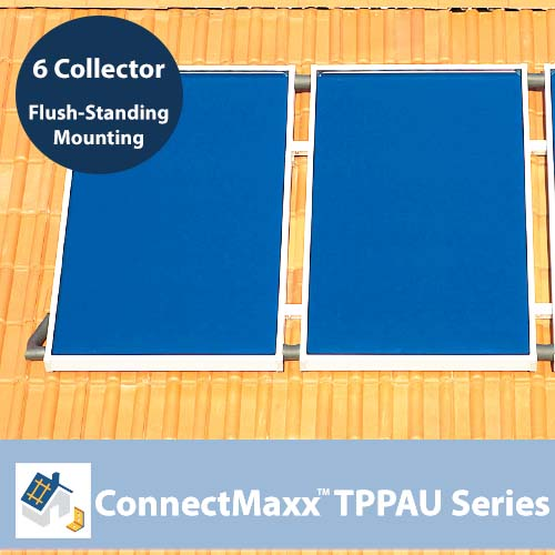 ConnectMaxx TPPAU Series Flush-Mounting Kit – 6 Collectors