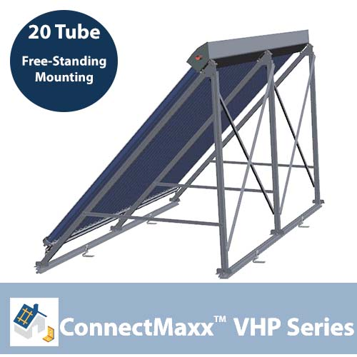 ConnectMaxx VHP20 Free-Standing Mounting Kit – 1 Collector
