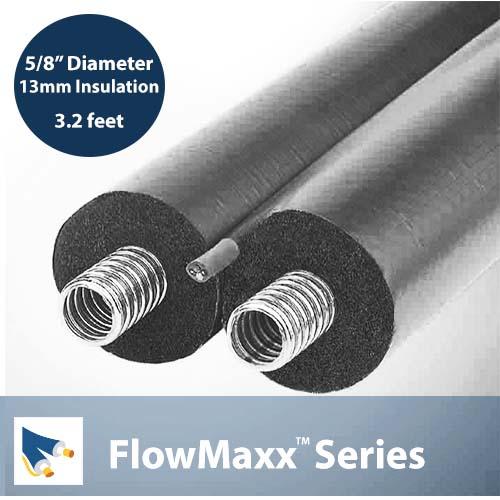 FlowMaxx Pre-Insulated Line Set 5/8 3.2 feet