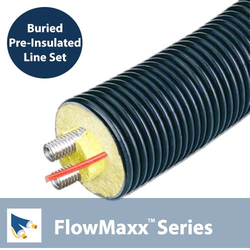 FlowMaxx 3/4 in. Buried Flexible Line Set