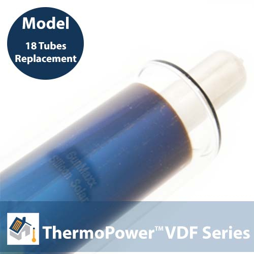 18 Replacement Vacuum Direct Flow Tubes