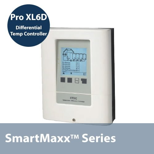 SmartMaxx Solar Hot Water Controller with 4 Relays