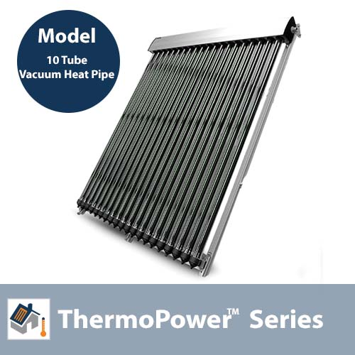 ThermoPower 10 Tube Evacuated Tube Collector