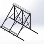ThermoPower-VHP20 Tilt Mount FRAME ONLY – Iso View