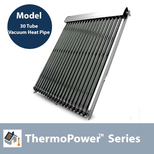 ThermoPower 30 Tube Evacuated Tube Collector