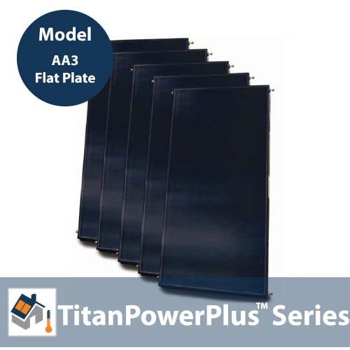 TitanPowerPlus-AA3 Solar Flat Plate Collector