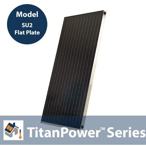 TitanPowerPlus-SU2 Solar Flat Plate Collector