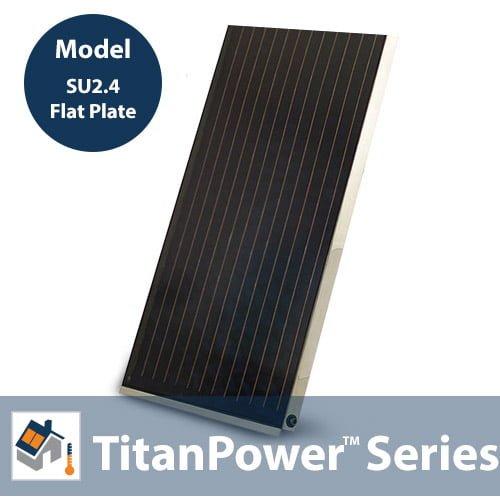 TitanPowerPlus-SU2.4 Solar Flat Plate Collector