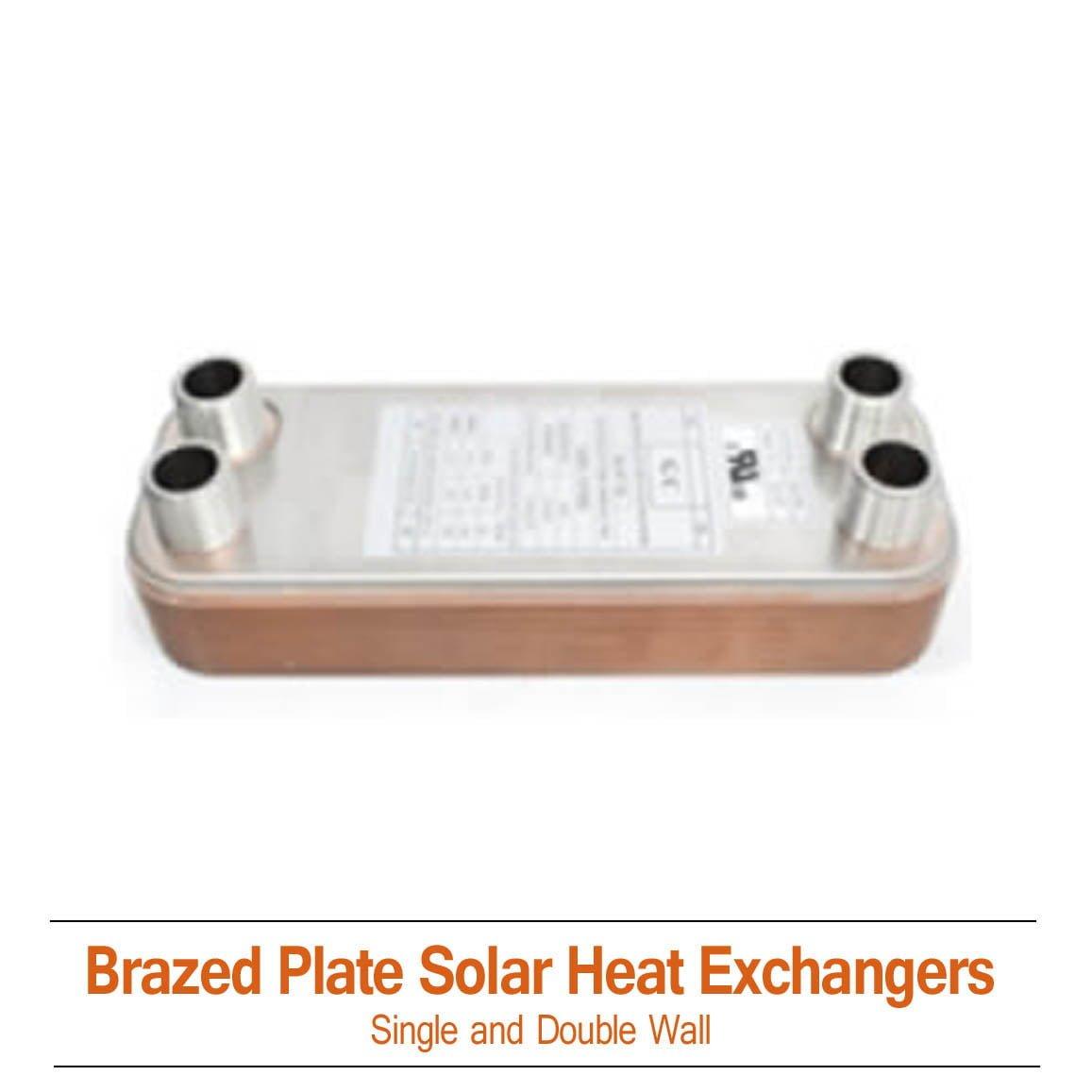 30K Single Wall Solar Heat Exchanger