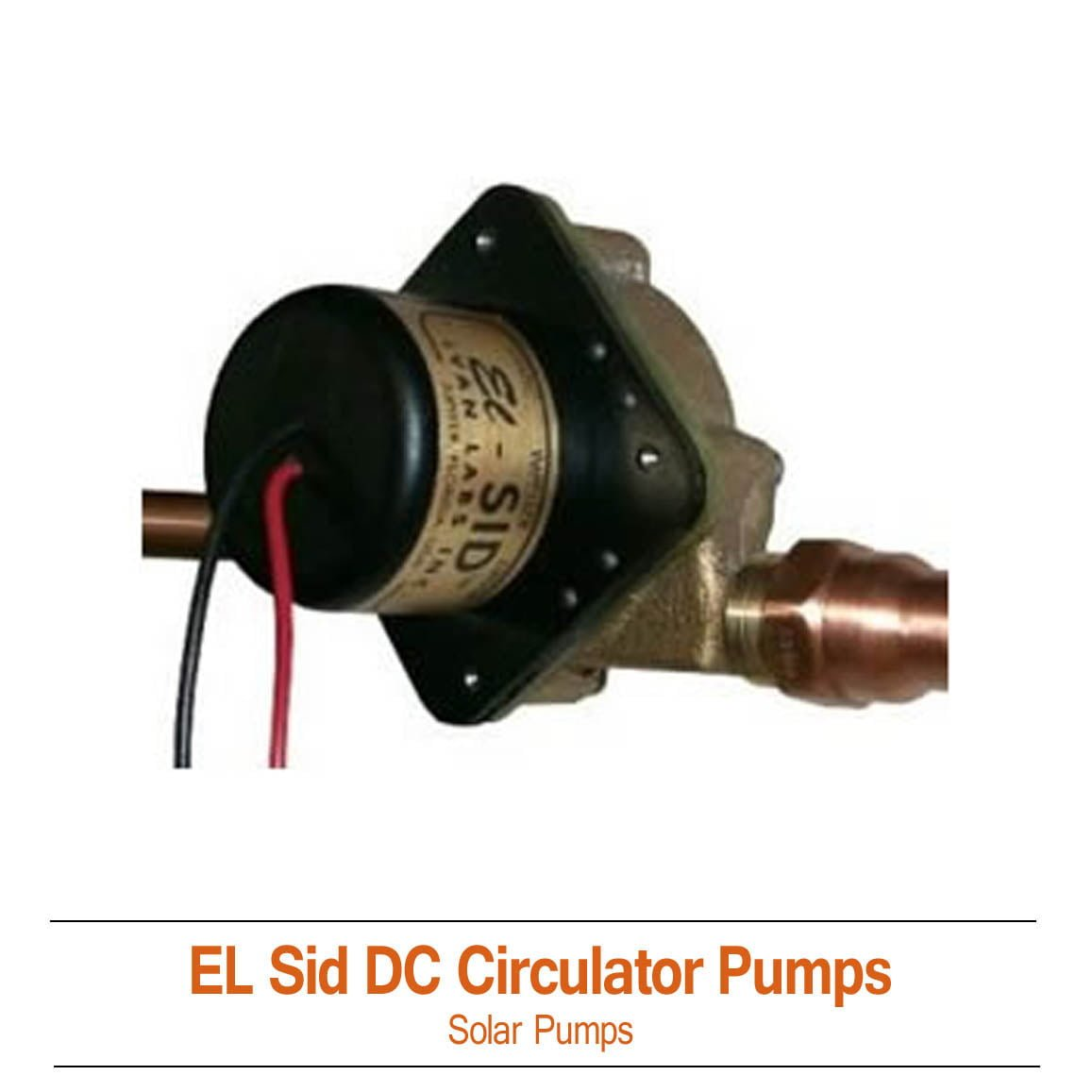 El Sid Solar Circulating Pump 12v