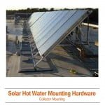 Solar Hot Water Mounting Hardware