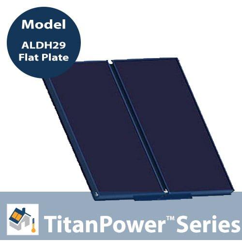 TitanPower-ALDH29 Solar Flat Plate Collector