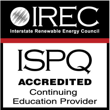 IREC ISPQ Accredited Solar Thermal Training