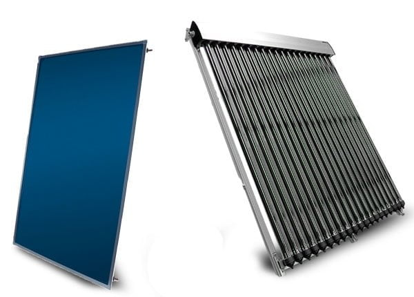 Flat Plate & Evacauted Tube Solar Collectors