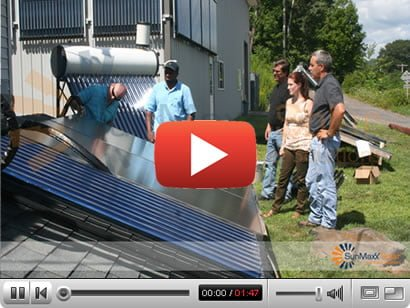 SunMaxx Solar Thermal Video Center