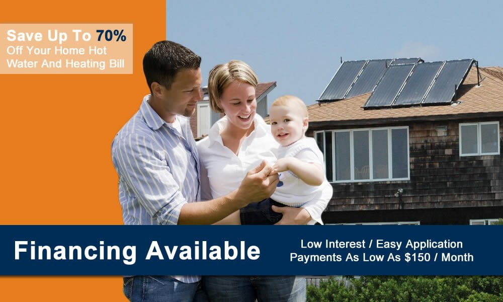 Residential Solar Hot Water System Financing