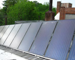 Cooper's Cave Ale Company, Cooperstown NY - TitanPower Flat Plate Solar Collectors