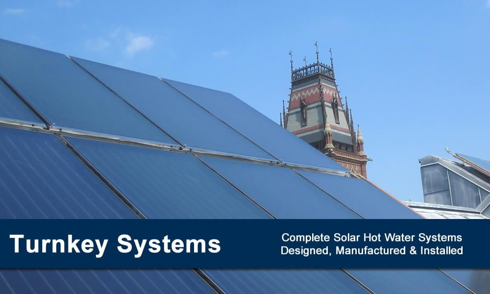 Turnkey Solar Hot Water Systems