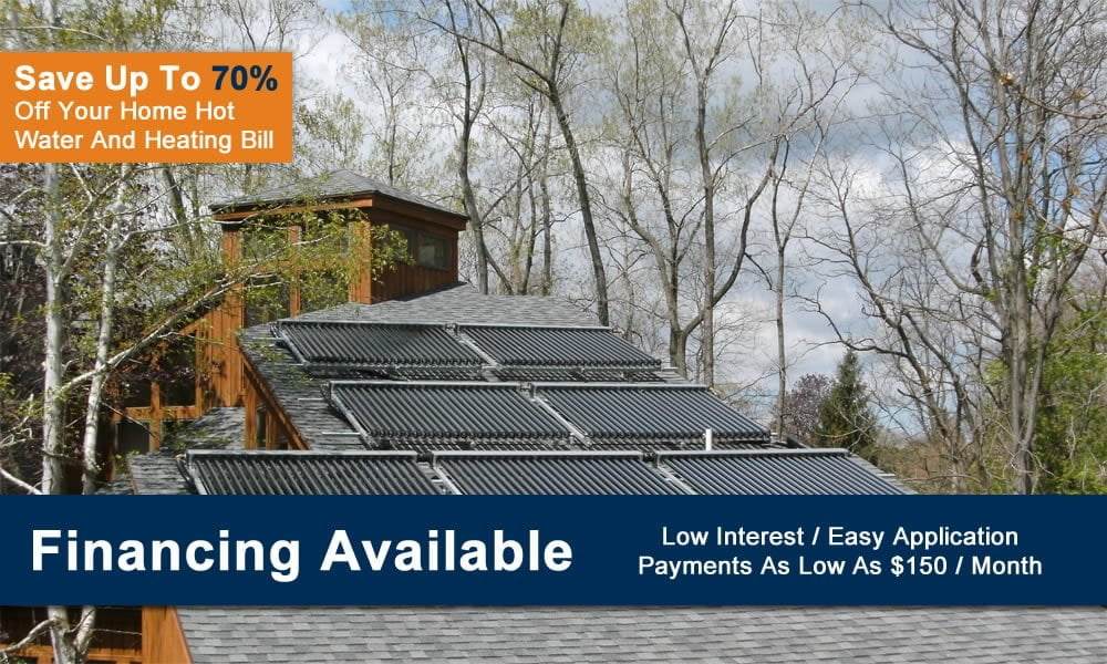 Residential Solar Hot Water & Heating Systems From SunMaxx