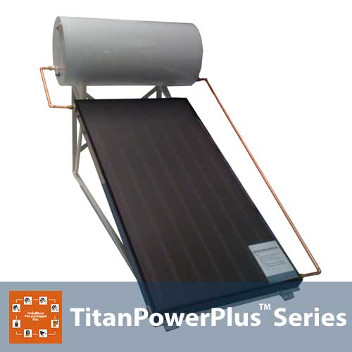 Flat Plate Thermosyphon Solar Hot Water System – 50G