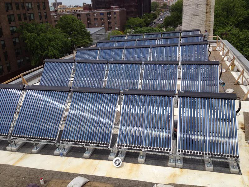 St. Mary's Rec Center Solar Hot Water System In Bronx NY