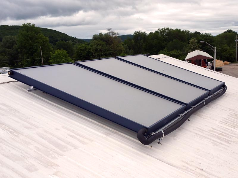 Solar Hot Water System For USA Custom Pad