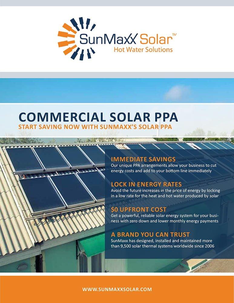 Brochure – Commercial Solar Thermal PPAs