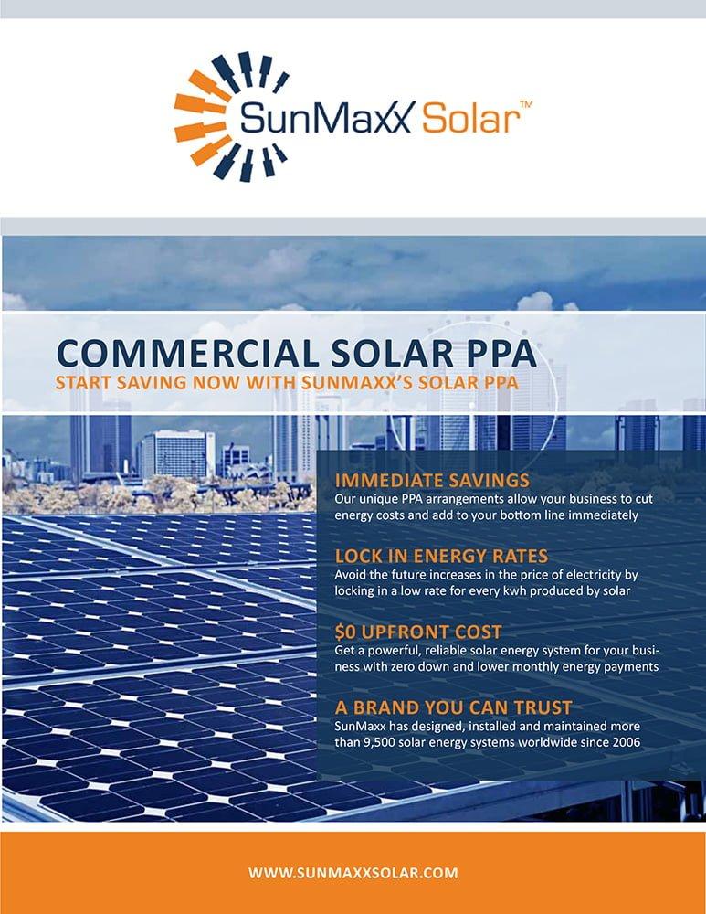 Brochure – Commercial PV PPAs