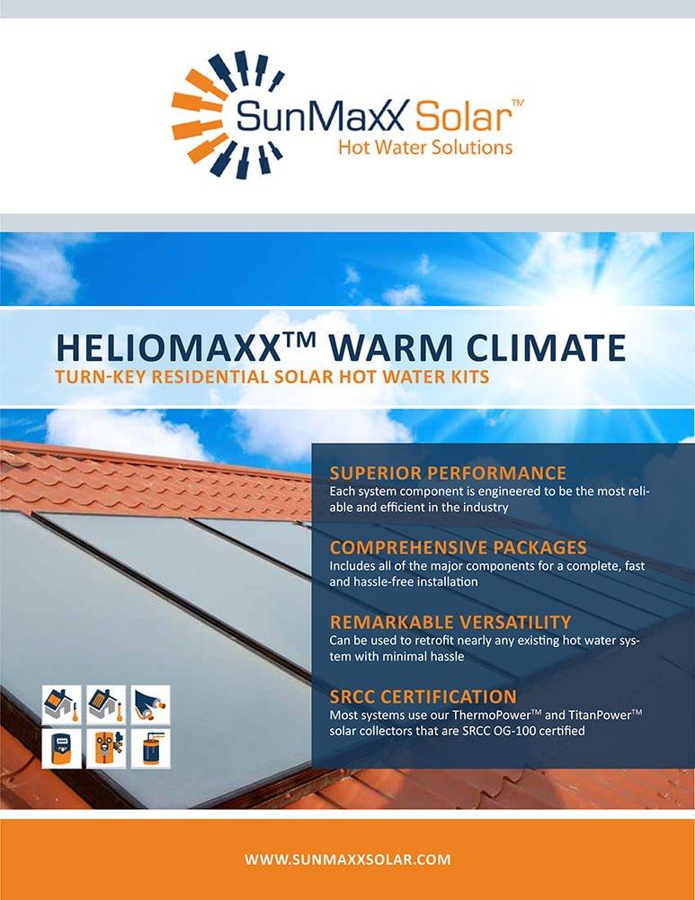 Brochure – HelioMaxx Warm Climate Kits