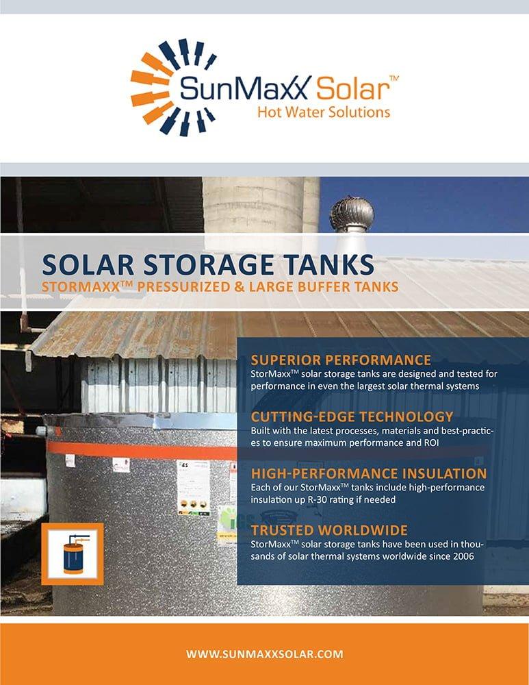 Brochure – StorMaxx Solar Storage Tanks