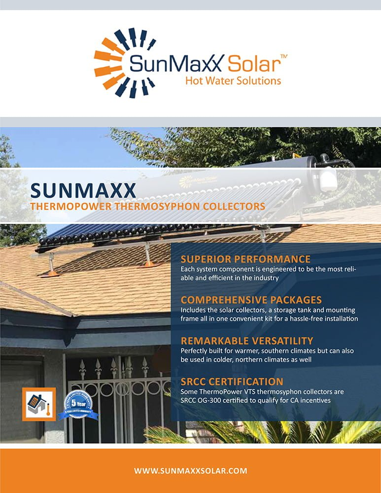 Brochure – Thermosyphon Solar Collectors