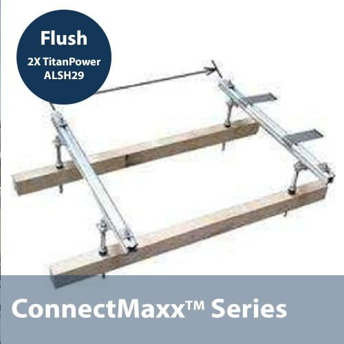 ALDH29 Flush Mounting Kit (2 Collectors)