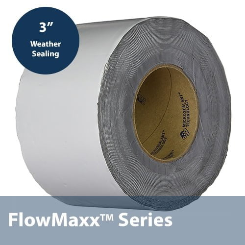 High Temperature UV Rated Tape Black 3in x50ft