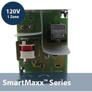 1 Zone 120V Switching Relay w/ internal transformer -1 Spst line relay