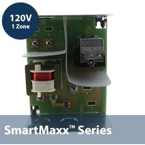 1 Zone 120V Switching Relay w/ internal transformer -1 Spst line relay