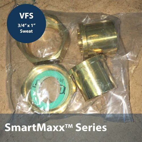 SmartMaxx VFS 1IN x 3/4IN Sweat Connector