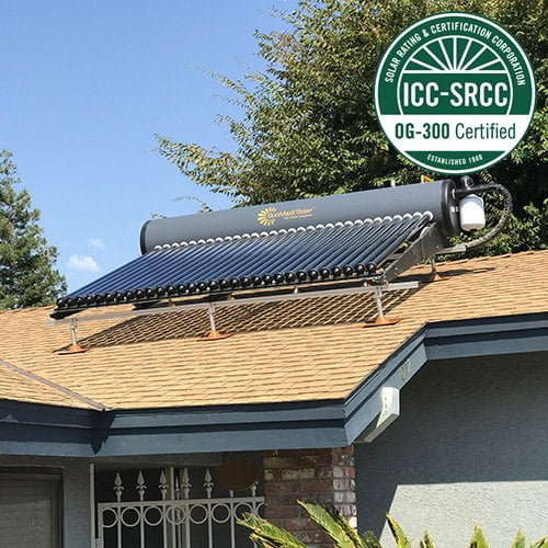 SunMaxx Offers Two New SRCC OG-300 Certified DIY Solar Hot Water System Kits Main Image