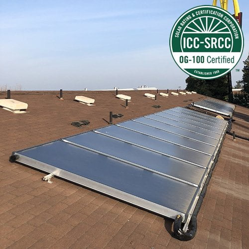 SunMaxx Releases Newest SRCC OG-100 TitanPower Flat Plate Solar Collector – The ALDH29-V3 Main Image